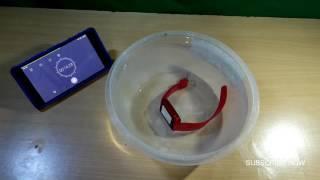 U8 Smart Watch Water Proof/Resistant Test