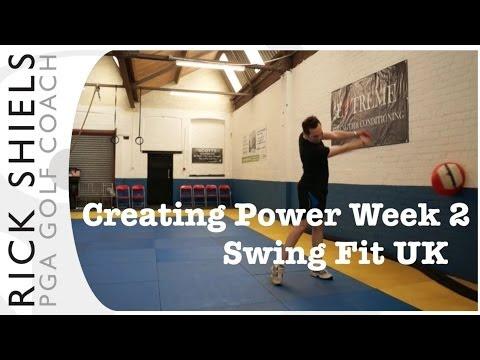 Golf Strength Training Week 2