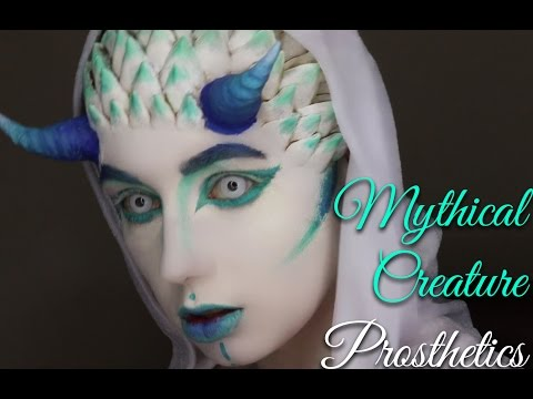 Mythical Creature Make Up Tutorial-Part One: The Prosthetics 31 Days Of Halloween