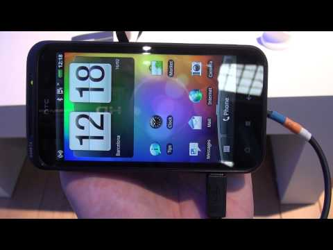 HTC Incredible S Intelligent Button Demo