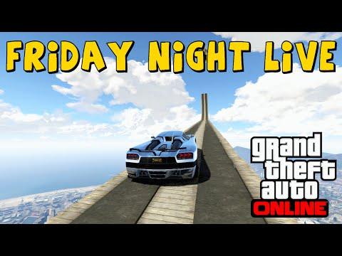 GTA 5 FRIDAY NIGHT LIVE Part 1 - STREAMING INSANE PLAYLIST - PS3 GTA V