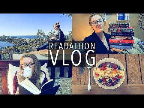 READATHON VLOG | Summer Biannual Bibliothon 2017
