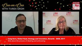 Craig Serra, Novartis – 2020 PharmaVOICE 100 Celebration
