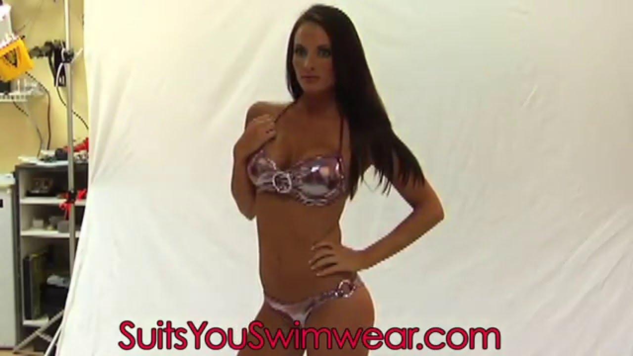 301e29d7d25 Suits You Swimwear, scrunch booty short bikini. - YouTube