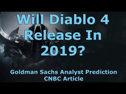 Goldman Sachs Analyst Predicts Diablo 4 Will Release In 2019