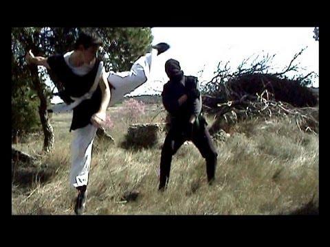 Los Tres Dragones De Occidente Pol Vs Ninja Fight Episode 1 Youtube