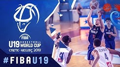 France v Serbia - Full Game - FIBA U19 Basketball World Cup 2019