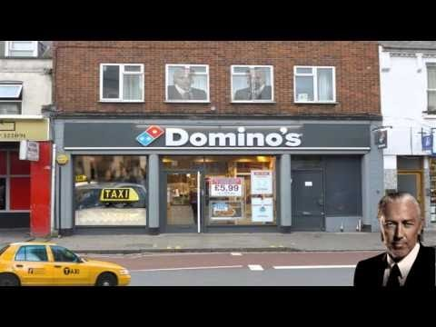 Welsh Chief calls Domino's in Cambridge & a Cab Office in Canada
