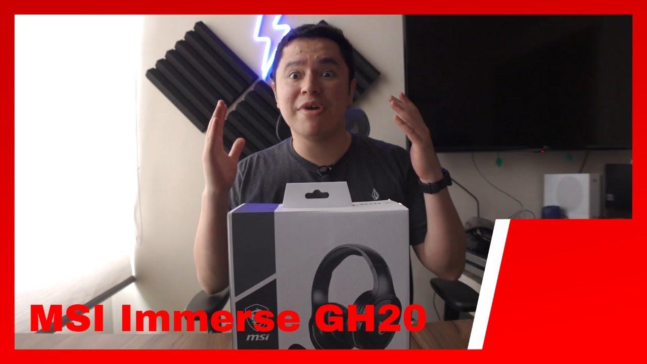 Download [Unboxing] MSI Immerse GH20 en español