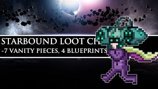 Starbound Loot Chest | Seven Vanity Pieces, 4 Blueprints, & More