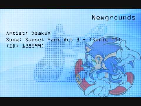 NG Music - Sunset Park Act 3 [Sonic] (XsakuX)