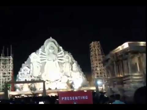 Deshapriya Park Durga Puja Theme Kolkata 2015  - World's Tallest Biggest & Largest Durga Idol