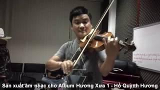 Sản xuất âm nhạc cho Album Hương Xưa 1 | Hồ Quỳnh Hương