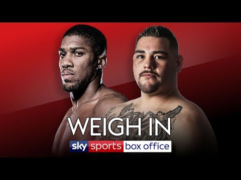 LIVE WEIGH-IN! Anthony Joshua Vs Andy Ruiz Jr