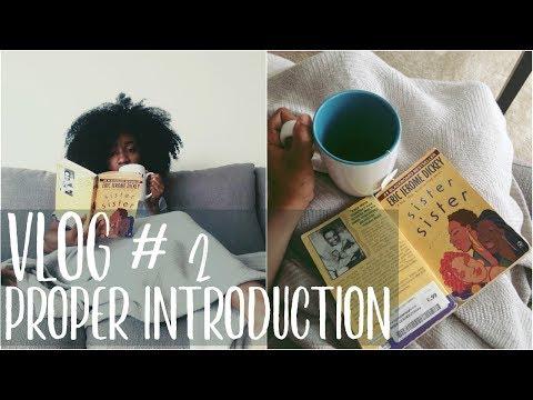 Vlog #2| Proper Introduction☕