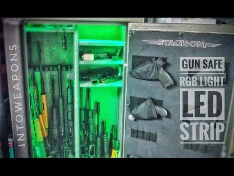 802 & How to light your gun safe DIY and Parts list!! (Motion sensing on ... azcodes.com