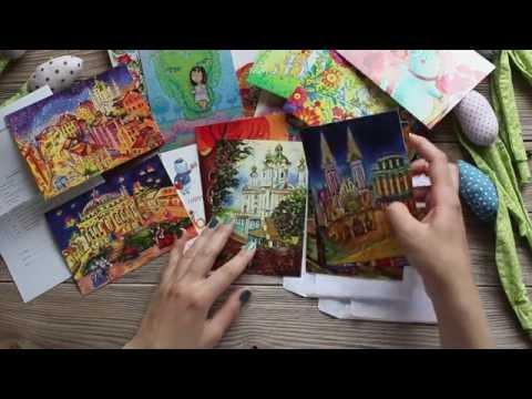 Postcrossing || Обзор интернет-магазина открыток Cards-for-me.com.ua (ФотоФабрика)