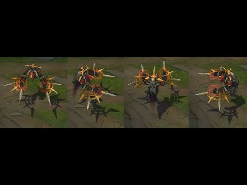 League of legends S6 Skins- Cursed revenant nocturne - YouTube