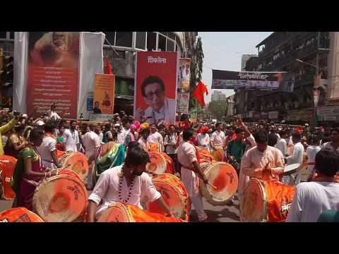 Girgaon dhwaj pathak 2017 Gudi padwa Part-1