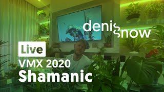 Live! New Downtempo Music Mix of Denis Snow for Virada Musical Xamânica Festival 2020