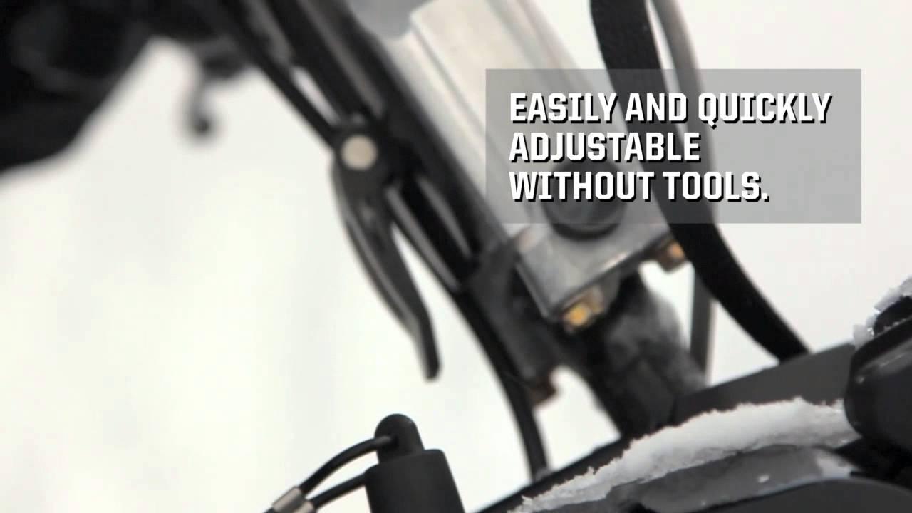Ski-Doo Adjustable Riser Block - YouTube