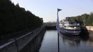 По каналу имени Москвы на теплоходе Крылов  Сентябрь 2017 Cruise on Volga River 09/2017
