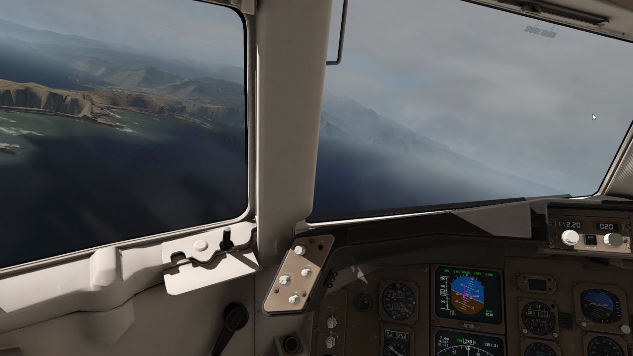 Landing in Madeira X-Plane 11 + xEnviro + FF767 + LPMA