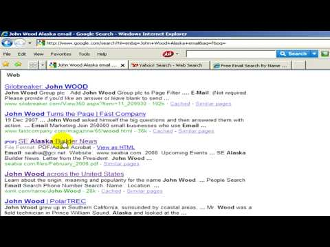 Internet Search Information : How to Find a Friend's E-Mail Address for Free