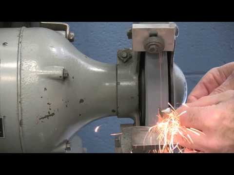 Nashua Community College Grinding a High Speed Tool Bit