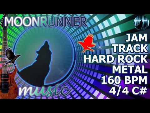 Jam Track | Hard Rock/Metal | 160 BPM | Key Of C#