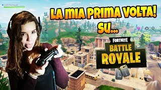 La MIA RAGAZZA gioca a Fortnite Battle Royale!