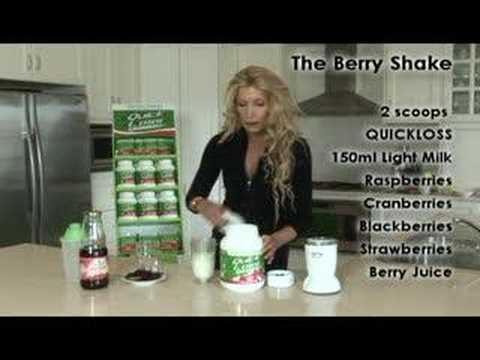 Quick Weight Loss - The QuickLoss Berry Shake