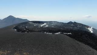 新燃岳周辺の様子(2021年3月10日)