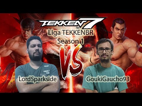 Liga TEKKEN Brasil Season 1 - LordSparkside (Law) vs GoukiGaucho93 (Feng) - TEKKEN 7 PC Version