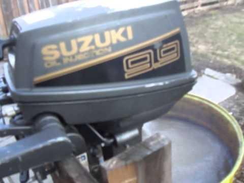 suzuki 9.9 hp dt9.9c outboard - youtube