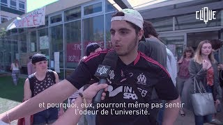 Clique Report : immersion dans la fac de Nanterre, bloquée depuis plusieurs semaines