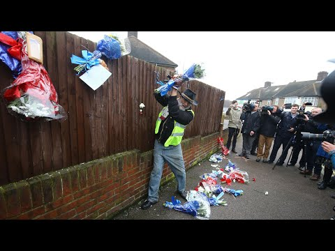 Hither Green floral tributes torn down for fourth time
