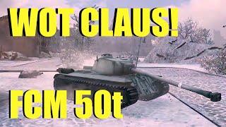 WOT - FCM 50t Premium French Tier 8 Heavy Tank Part 2