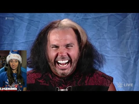 WWE Raw 12/11/17 Woken Matt Hardy knows Sister Abigail