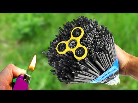 Amazing Experiment Fidget Spinner & 1000 Sparklers