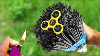 Amazing Experiment Fidget Spinner & 1000 Sparklers