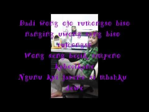 Hip Hop Jowo-ojo Ngece Ojo Dumeh Wong Urip Mung Mampir Ngombe(lirik)