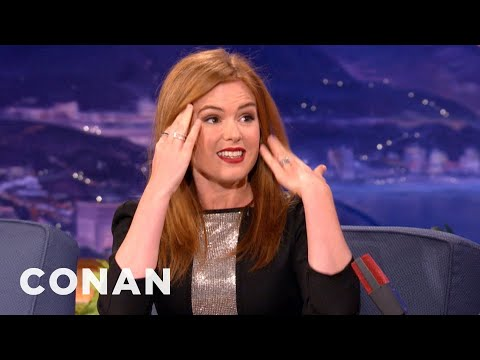 Isla Fisher: Everyone Thinks I Do Coke - CONAN on TBS
