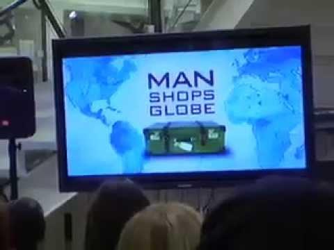 """""""Man Shops Globe"""" Premiere Party"""