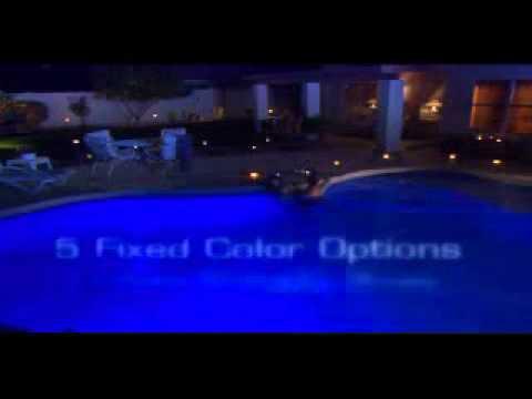 Hayward Colorlogic Led Pool Light Youtube