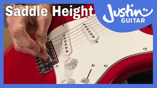 Adjusting Saddle Height | How To Setup Your Electric Guitar [4/10] with Charlie Chandler