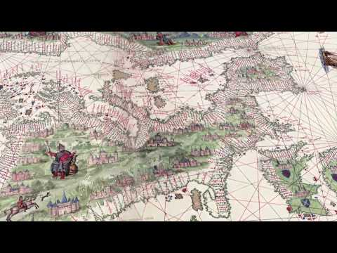 Atlas Vallard (1547) (Video V. Italiana) - The Huntington Library, San Marino (CA)