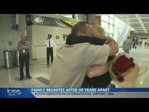 Sister Meets Brother for First Time. NBC Washington News 4's Shomari Stone Reports from YouTube · Duration:  1 minutes 58 seconds