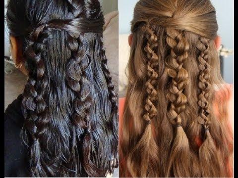peinados sencillos y faciles trenzas con textura