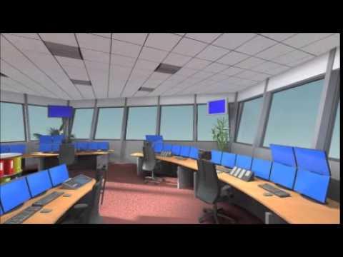 Rail Traffic Control Room Amersfoort